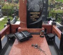 """Готовый памятник, сделано в ООО """"Посбон"""" г. Пушкино 2019"""